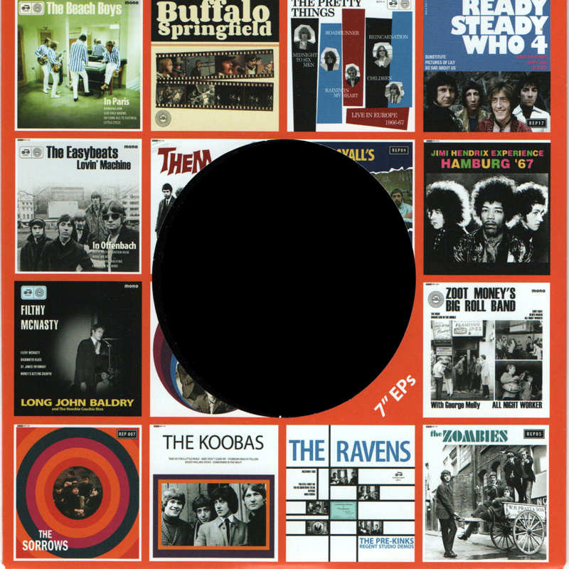 Discographie : 45 Tours : SP,  EP,  Maxi 45 tours - Page 12 1960sRecordsREP19-Hamburg67Inside