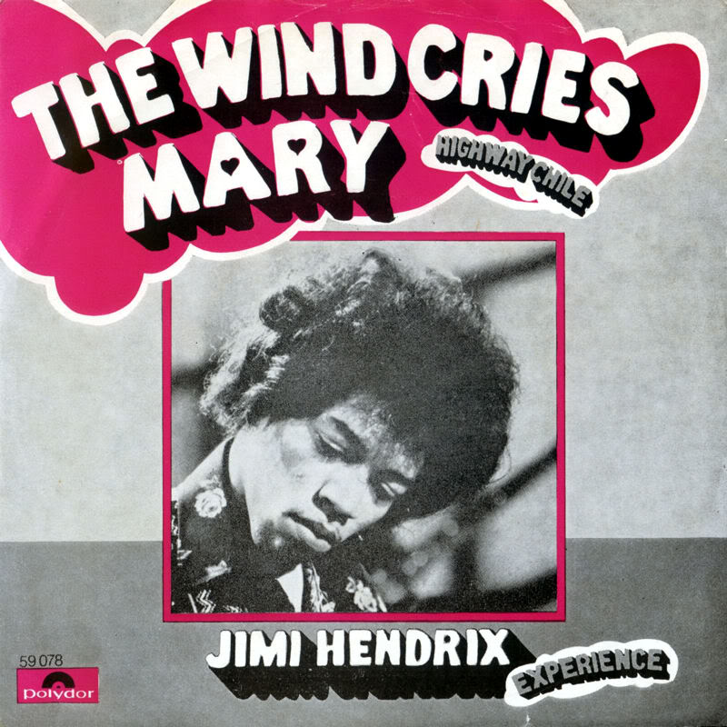 Discographie : 45 Tours : SP,  EP,  Maxi 45 tours 1967%20Polydor%2059078--TheWindCriesMary-HighwayChileFront%20Scandinavie