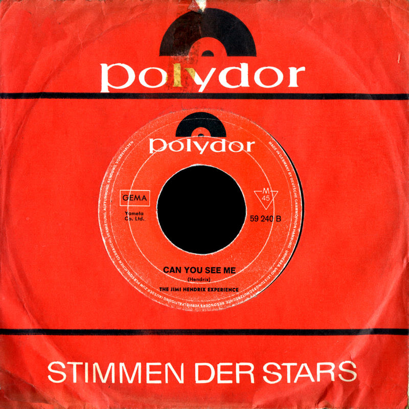 Discographie : 45 Tours : SP,  EP,  Maxi 45 tours - Page 5 1968%20Polydor%2059240-AllAlongTheWatchtower-CanYouSeeMeBack%20Germany