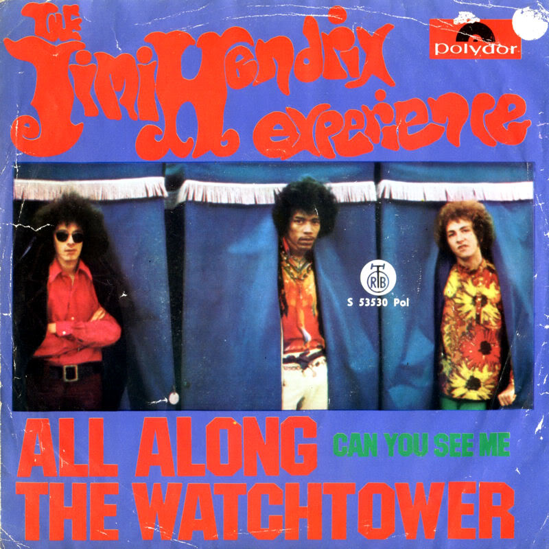 Discographie : 45 Tours : SP,  EP,  Maxi 45 tours - Page 5 1968%20RTB-Polydor%20S53530-AllAlongTheWatchtower-CanYouSeeMeYougoslavieBack