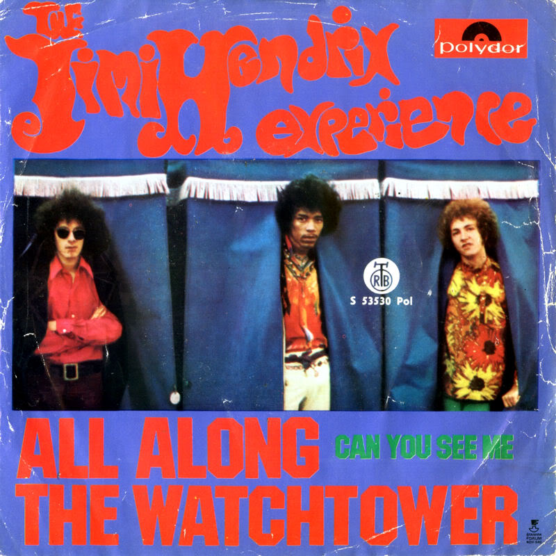 Discographie : 45 Tours : SP,  EP,  Maxi 45 tours 1968%20RTB-Polydor%20S53530-AllAlongTheWatchtower-CanYouSeeMeYougoslavieFront