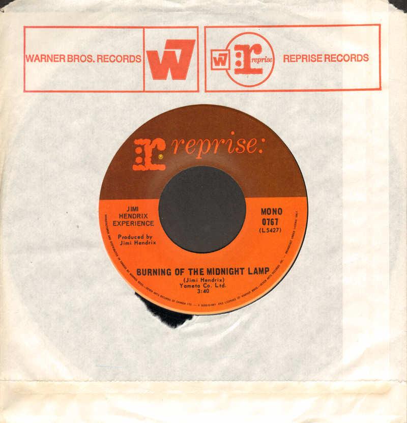 Discographie : 45 Tours : SP,  EP,  Maxi 45 tours - Page 11 1968-Reprise0767-BurningOfTheMidnightLampMono