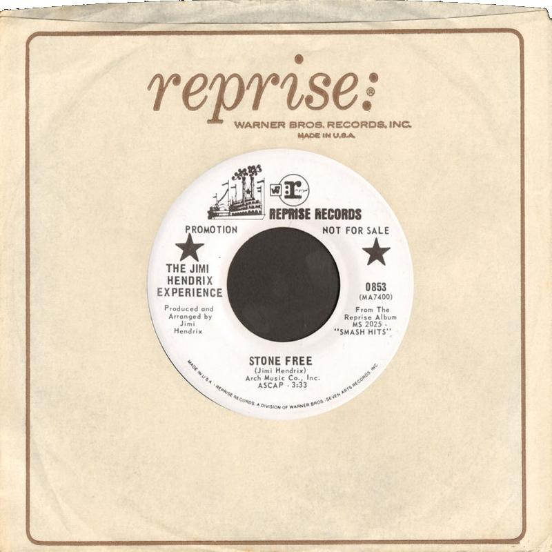 Discographie : 45 Tours : SP,  EP,  Maxi 45 tours 1969%20Reprise%200853promosideAUSA
