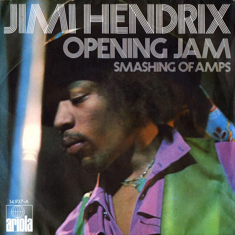 Discographie : 45 Tours : SP,  EP,  Maxi 45 tours 1971%20Ariola14937-A-OpeningJamSunshineOfYourLove-SmashingOfAmpsFront
