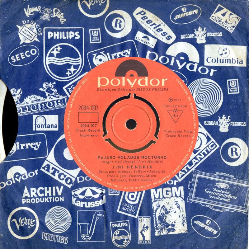 Discographie : 45 Tours : SP,  EP,  Maxi 45 tours - Page 3 1971%20Polydor%202094007-PajaroVoladorNocturnoNightbirdFlyingChili
