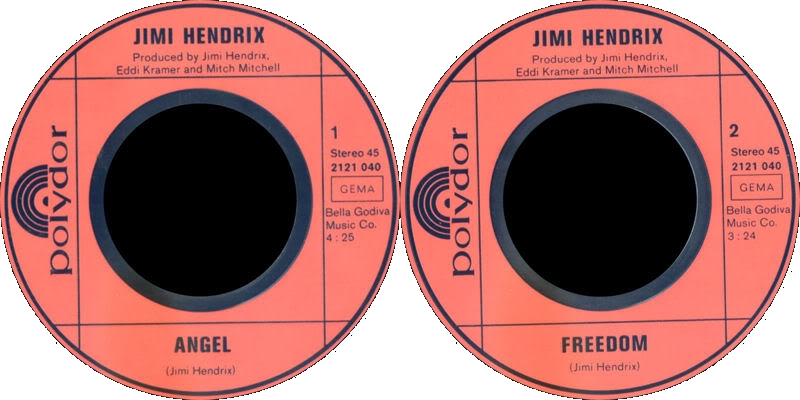 Discographie : 45 Tours : SP,  EP,  Maxi 45 tours - Page 6 1971%20Polydor%202121040-Angle-FreedomLabelGermany