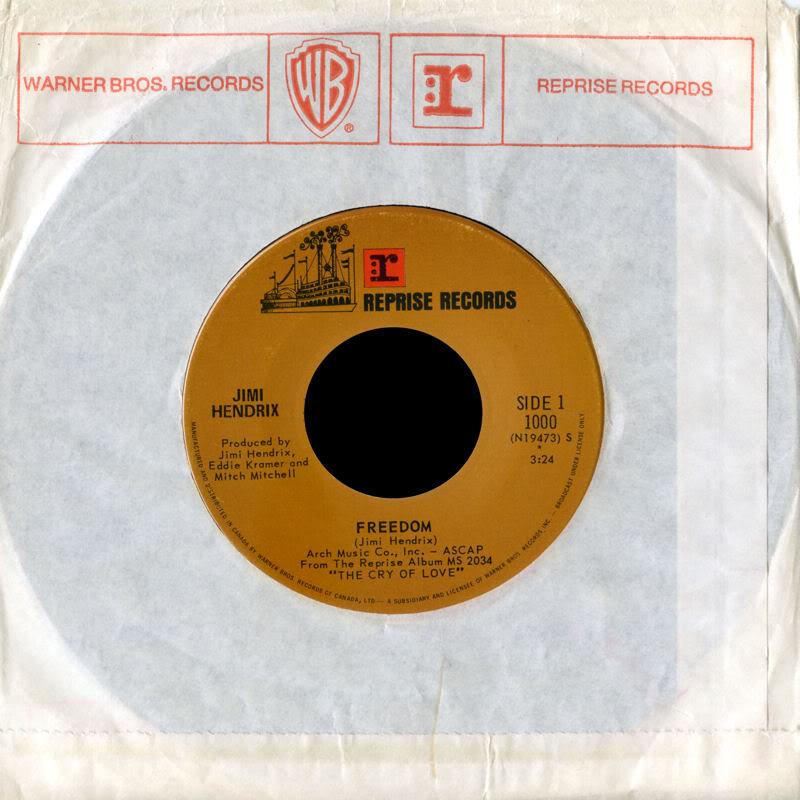 Discographie : 45 Tours : SP,  EP,  Maxi 45 tours 1971%20Reprise1000-Freedom-AngelFrontCanada