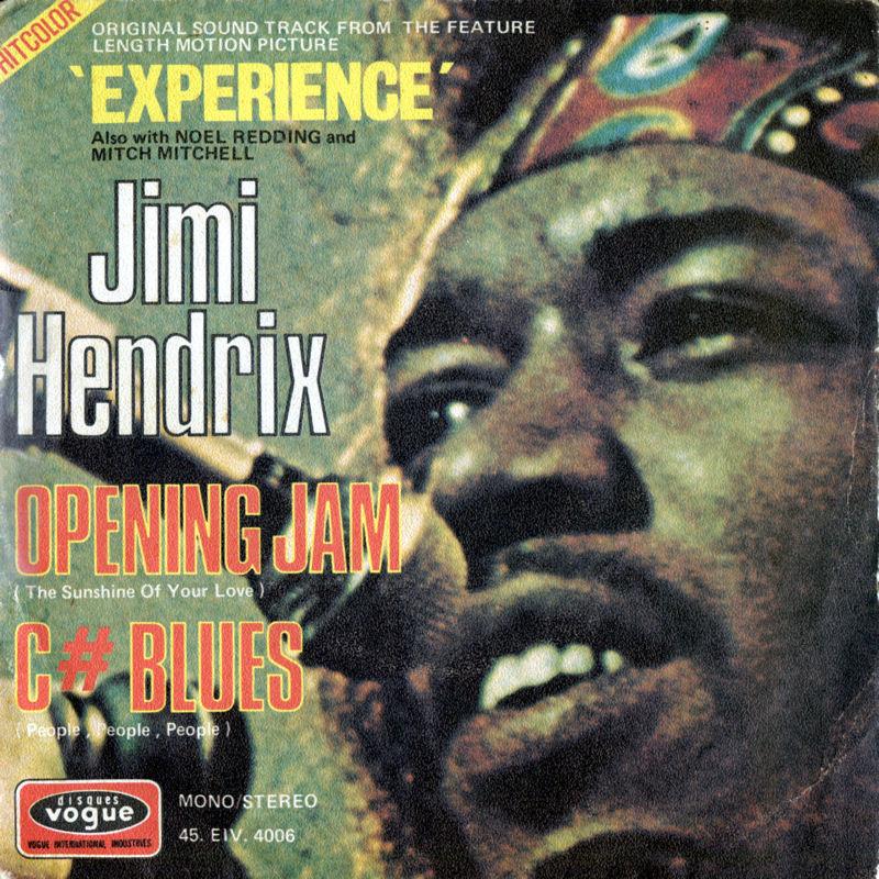 Discographie : 45 Tours : SP,  EP,  Maxi 45 tours 1971%20Vogue%20EIV4006-OpeningJam-CBluesFront