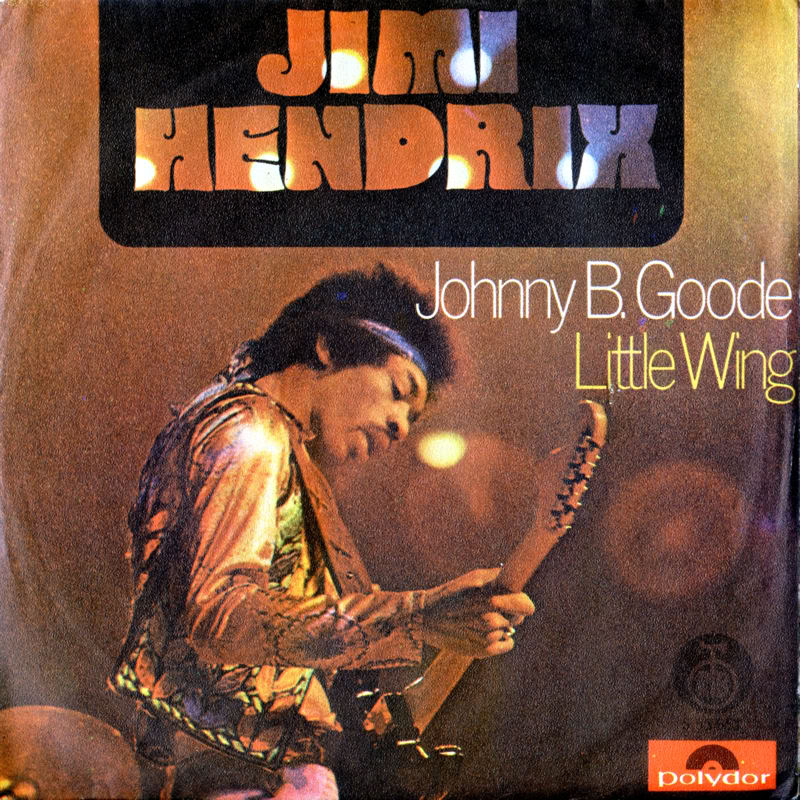 Discographie : 45 Tours : SP,  EP,  Maxi 45 tours 1972%20RTB-Polydor%20S53651-JohnnyBGoode-LittleWingYougoslavieFront