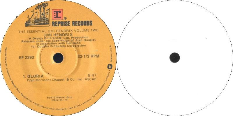 Discographie : 45 Tours : SP,  EP,  Maxi 45 tours - Page 3 1979%20Reprise%20EP-2293-GloriaLabelUSA