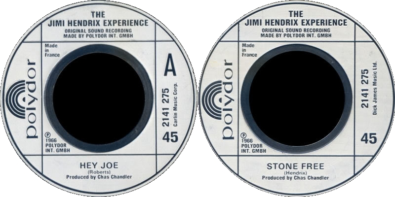 Discographie : 45 Tours : SP,  EP,  Maxi 45 tours - Page 3 1980%20Polydor%202141275-HeyJoe-StoneFree