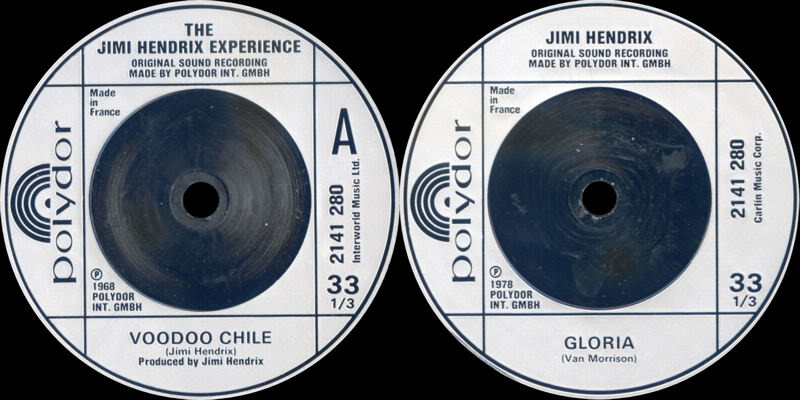 Discographie : 45 Tours : SP,  EP,  Maxi 45 tours - Page 3 1980%20Polydor%202141280-VoodooChile-Gloria