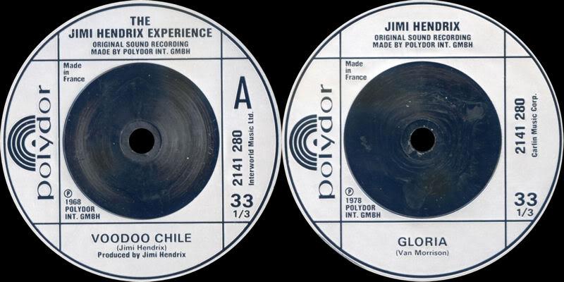 Discographie : 45 Tours : SP,  EP,  Maxi 45 tours 1980%20Polydor%202141280-VoodooChile-Gloria