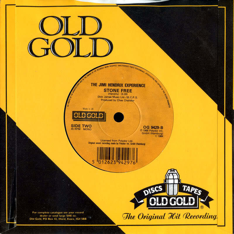 Discographie : 45 Tours : SP,  EP,  Maxi 45 tours - Page 5 1984%20Old%20Gold%20OG9429-HeyJoe-StoneFreeB