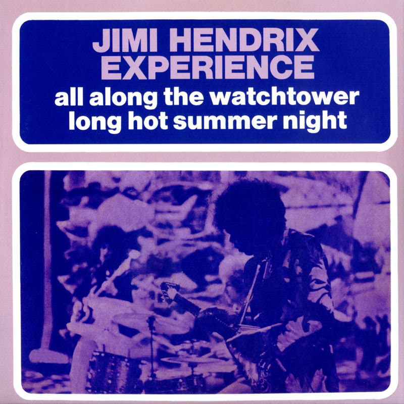 Discographie : 45 Tours : SP,  EP,  Maxi 45 tours - Page 2 1998%20Experience%20Hendrix%20RTH-1007-AllAlongTheWatchtower-LongHotSummerNightFront