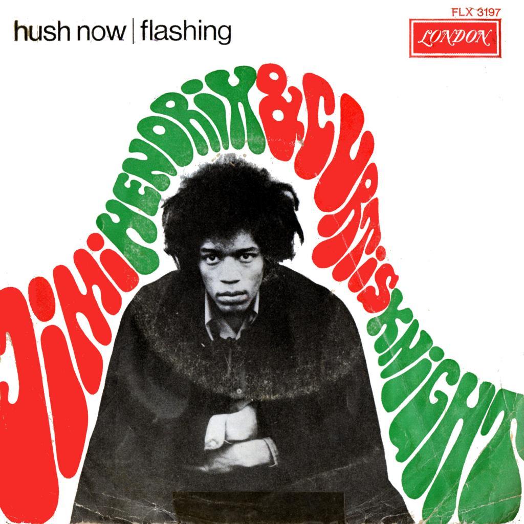 Discographie : Enregistrements pré-Experience & Ed Chalpin  LondonFLX3197-HushNow-FlashingFront