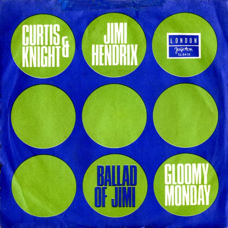 Discographie : Enregistrements pré-Experience & Ed Chalpin  LondonSL-8410-TheBalladOfJimiYougoslavieFront
