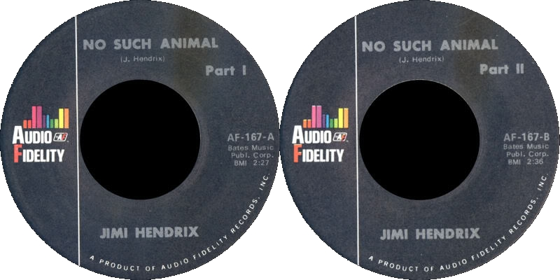 Discographie : Enregistrements pré-Experience & Ed Chalpin  - Page 3 NoSuchAnimal-AudioFidelityAF-167