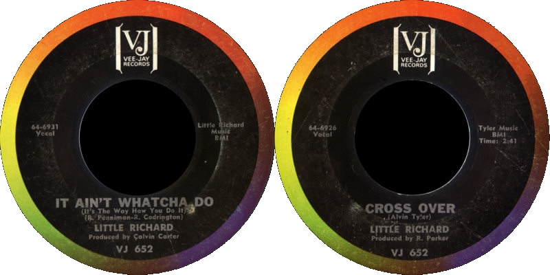 Discographie : Enregistrements pré-Experience & Ed Chalpin  - Page 6 VeeJay64-6931-ItAintWhatchaDo-CrossOver_zps0c98a901