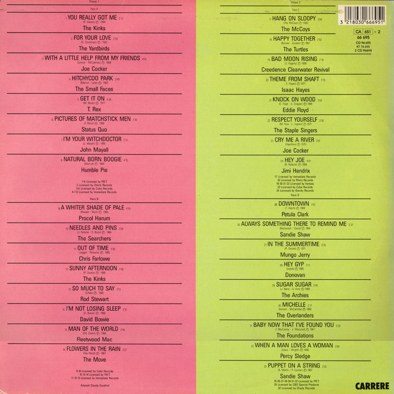Discographie : Rééditions & Compilations - Page 11 Carrere66695-LeTopDesSixtiesBack_zpsdd26cc55