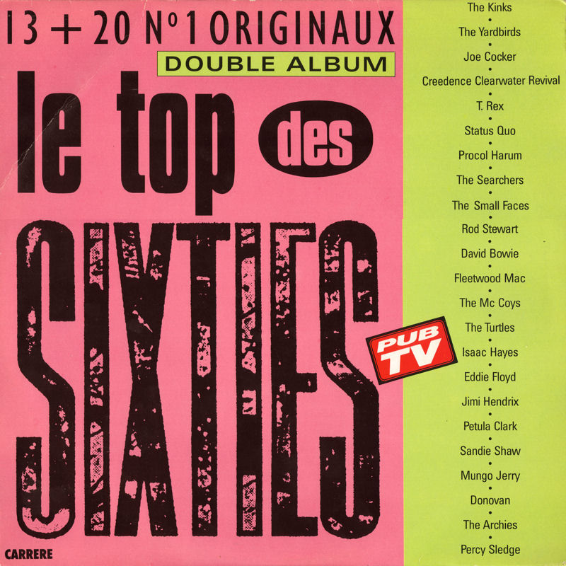 Discographie : Rééditions & Compilations Carrere66695-LeTopDesSixtiesFront_zps3b9ac651